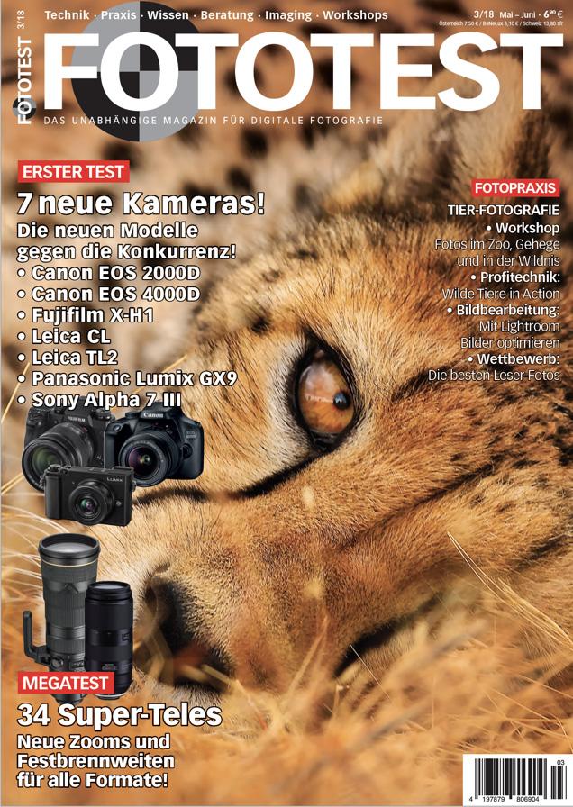 Bericht im Fototest Magazin