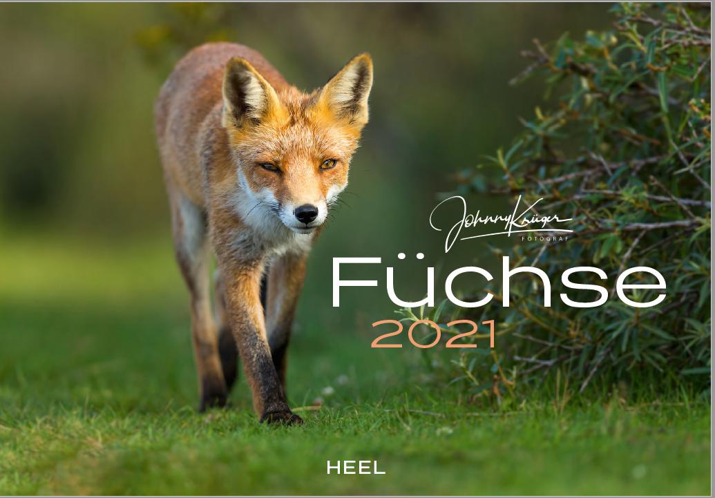Fuchs Kalender 2021 jetzt verfügbar! | ISBN: 978-3-96664-110-4